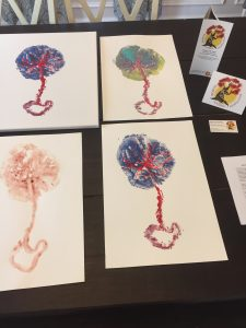 Placenta Prints by Nicole Link-Troen