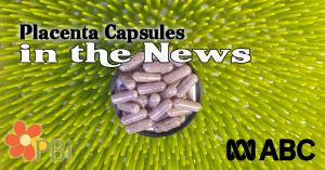 Placenta Pills on CBS News Australia