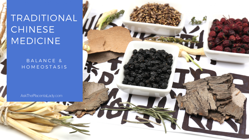 Traditional Chinese Medicine, TCM, seeks homeostasis and balance