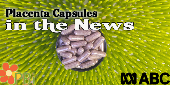 Placenta Pills on CBS News Australia