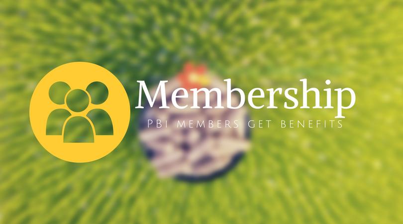 PBi Membership has benefits