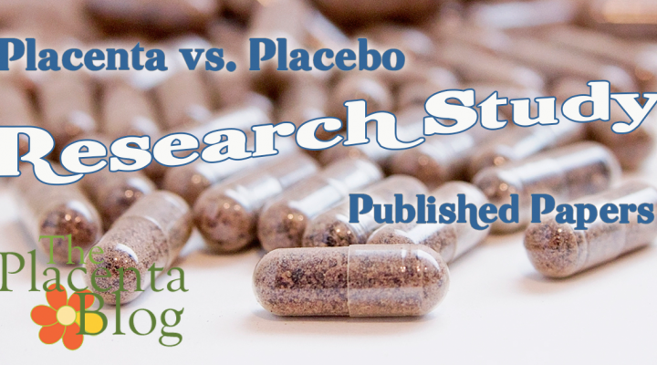 Placenta vs Placebo UNLV Research Study Results