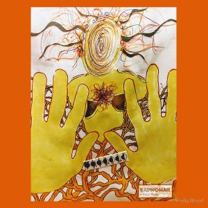 Radwoman ~ Golden Boundaries - Artwork by Polly Wood